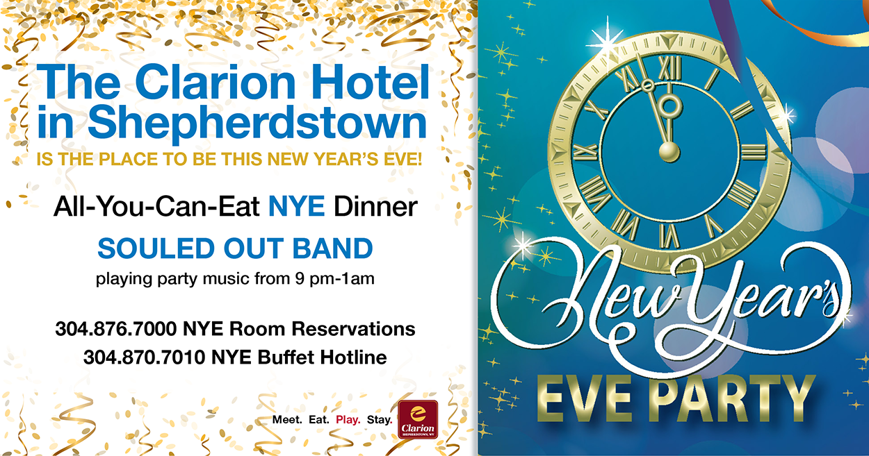 New Year's Eve Party—December 31st