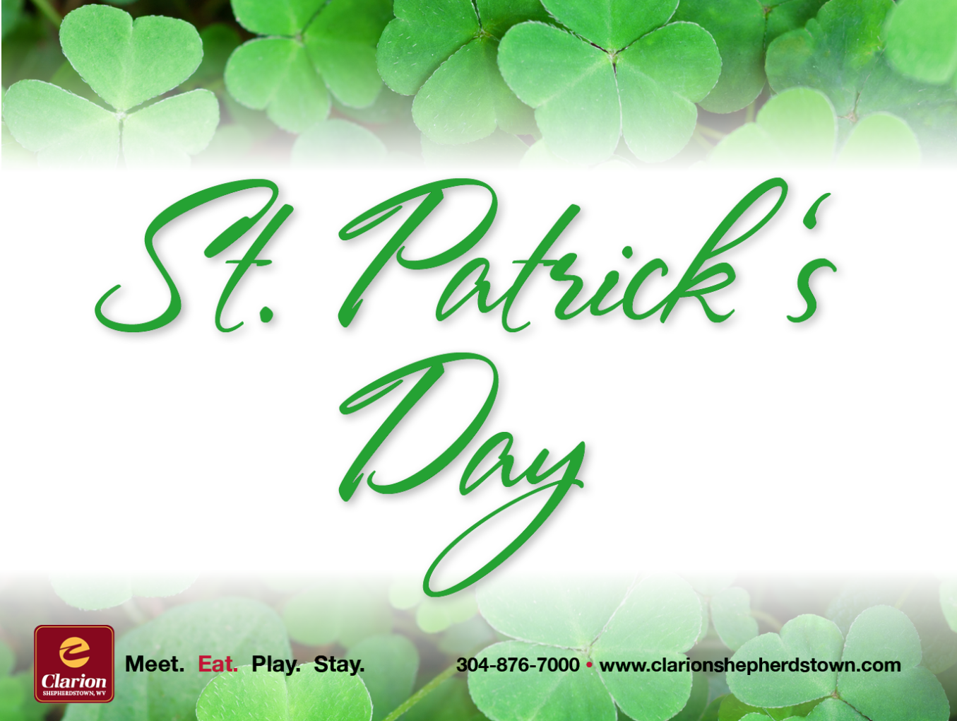 St. Patricks Day  Specials March 17